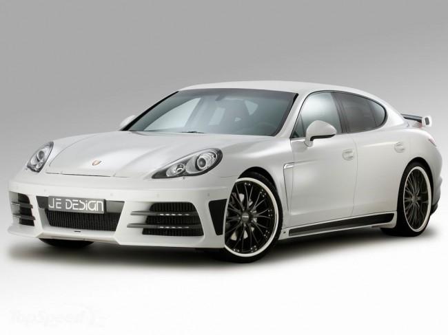 Тюнинг Porsche Panamera от ателье JE Design
