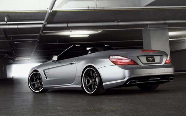 Тюнинг нового Mercedes SL500 R231 от Wheelsandmore