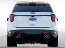 Новый Ford Explorer Sport 2018 фото
