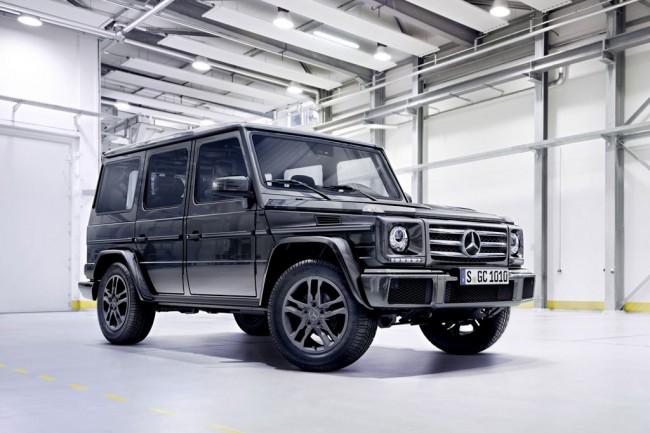 Обновленный Mercedes G-Class 2016
