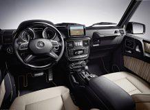 Фото салона Mercedes G-Class W463
