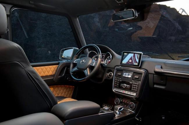 Салон Mercedes G65 AMG
