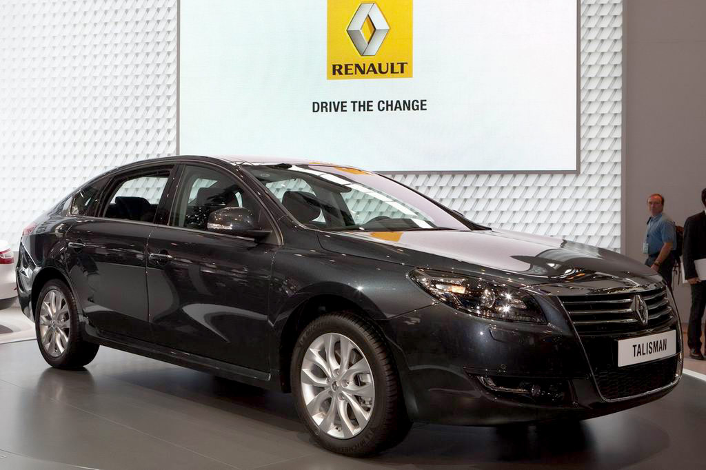Samsung Renault Talisman фото