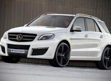 Обвес для нового Mercedes ML 2012