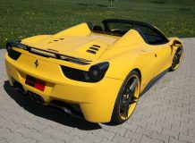 Ferrari 458 Spider от Novitec Rosso фото