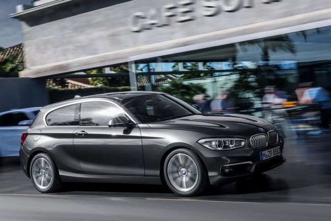 BMW 1-Series 3D 2016 рестайлинг