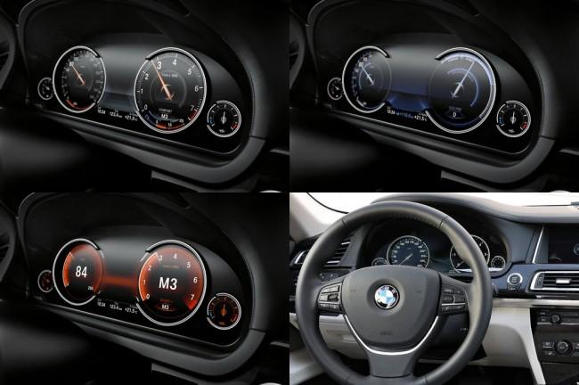 Панель приборов BMW 7 F01