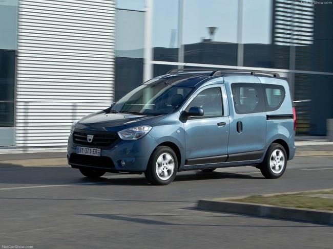 Пассажирская версия Dacia Dokker