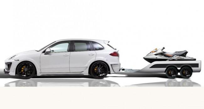 Lumma CLR 558 GT со спортивным трейлером