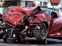 В Сингапуре водитель Ferrari 599 GTO погубил нескольких человек