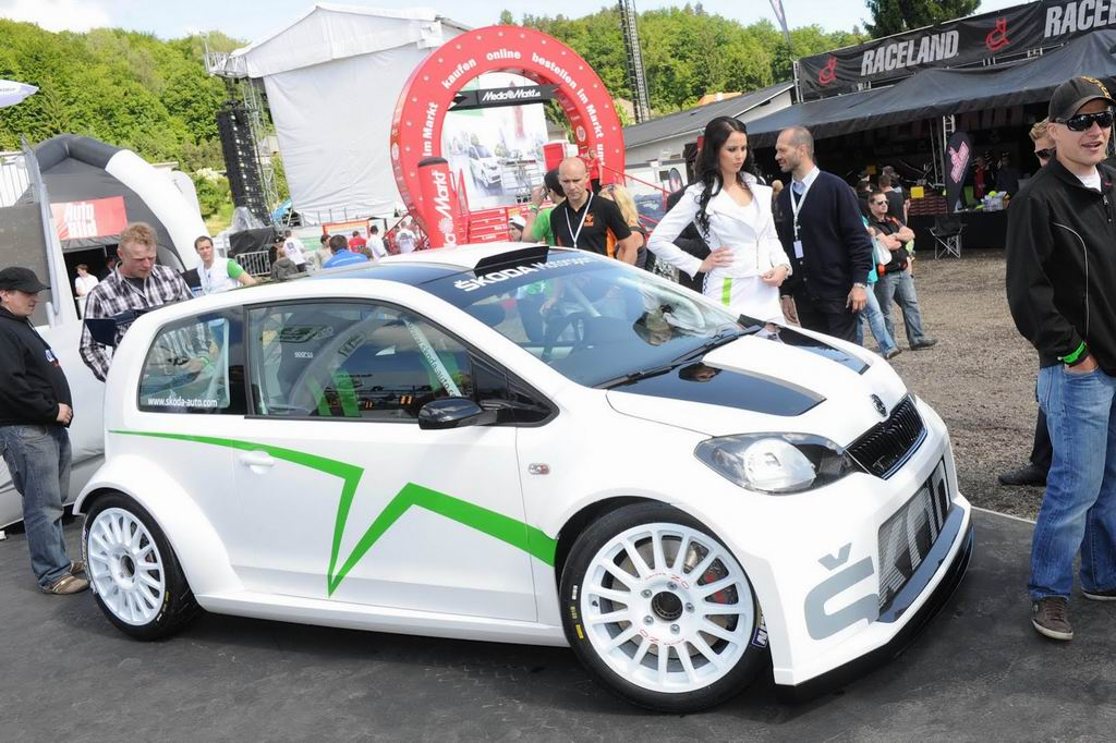 Фото концепта Skoda Citigo Rally Car