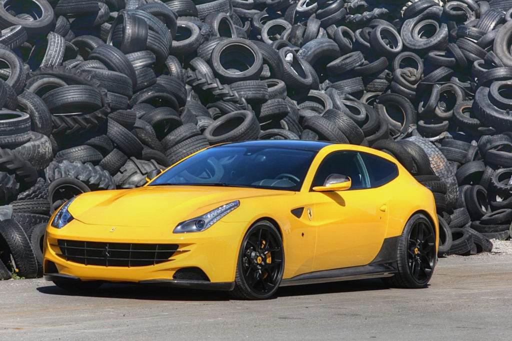 Обвес для Ferrari FF фото
