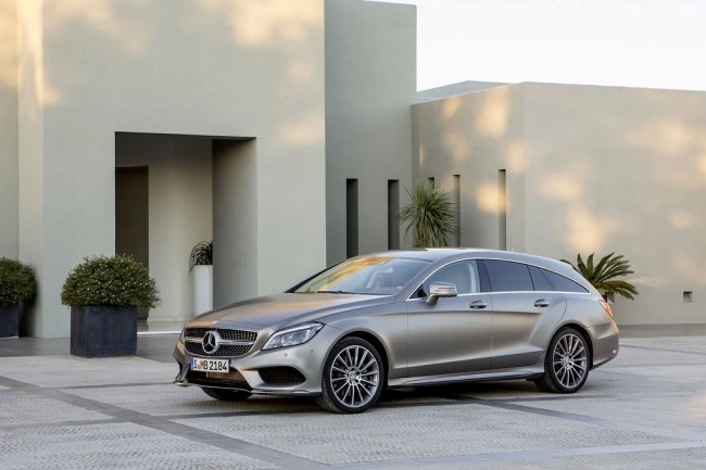 Mercedes CLS Shooting Brake 2015 рестайлинг