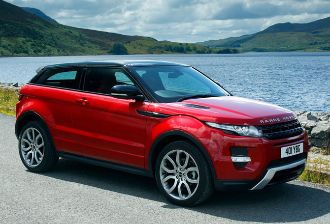 Фото базового Range Rover Evoque 3D