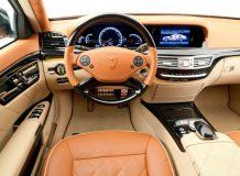 Тюнинг салона Mercedes S от Lorinser