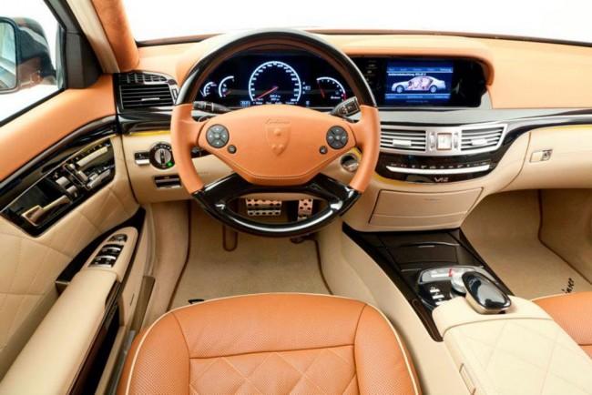 Тюнинг салона Mercedes S-Class от Lorinser