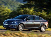 Новый Opel Astra седан фото
