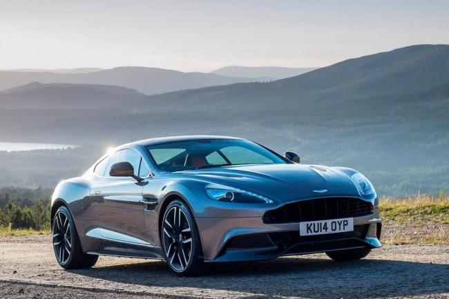 Обновленный Aston Martin Vanquish 2015