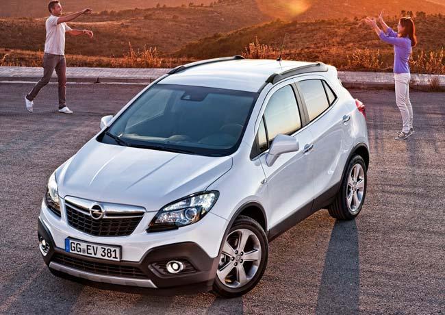 Названы российские цены на Opel Mokka