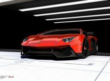 Фото Lamborghini Aventador Corsa LE от RENM