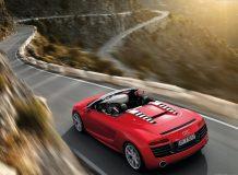 Audi R8 Spyder фото