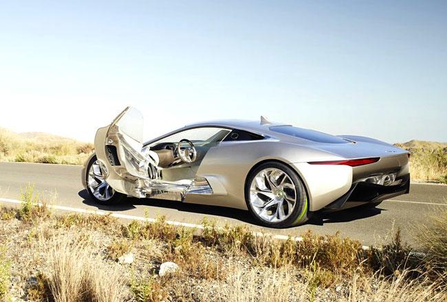 Фото Jaguar C-X75 Concept