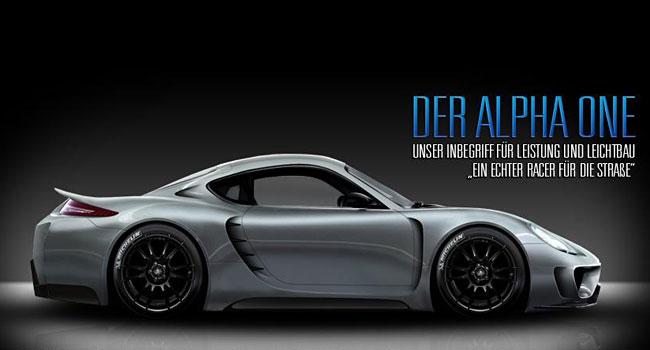 Купе Alpha One на базе Porsche Cayman