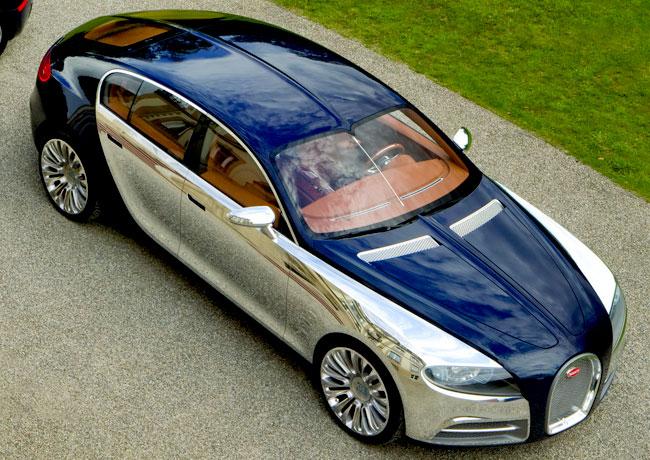 Фото седана Bugatti Galibier