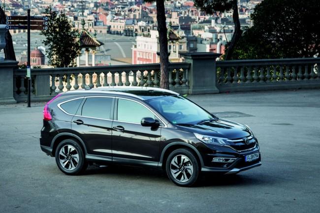 Обновленная Honda CR-V 2015