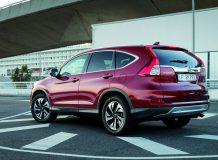 Новая Honda CR-V 2016 года