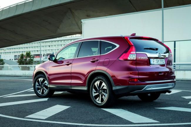 Хонда ЦРВ 2015 рестайлинг