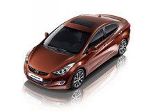 Обновленный Hyundai Avante 2013