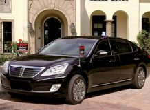 Hyundai Equus Limousine Security от Stoof-International