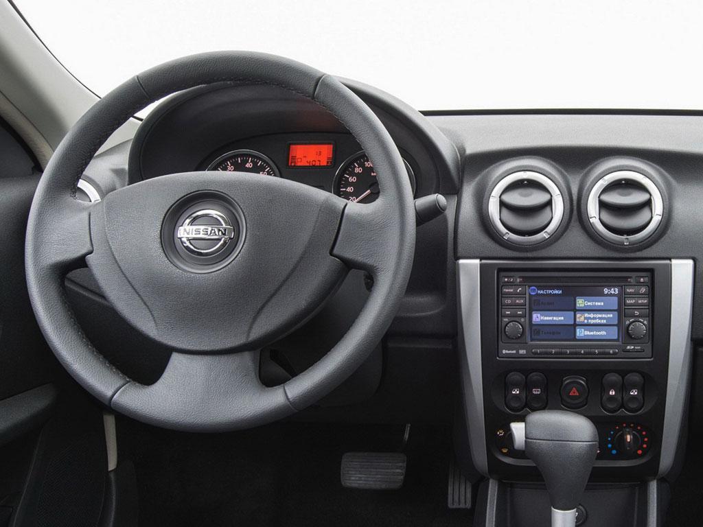 Салон Nissan Almera G11