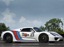 Porsche 918 Spyder Martini фото