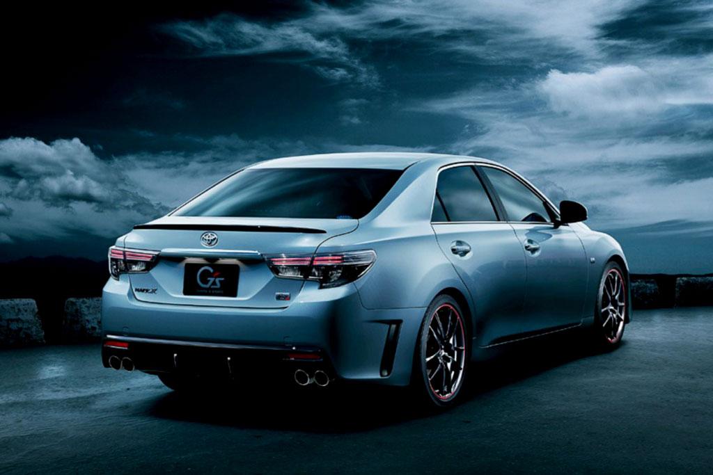 Новая Toyota Mark X G's 2014 фото
