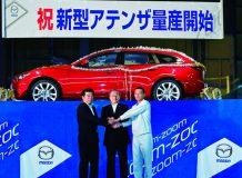 Первое фото новой Mazda 6 Wagon 2014