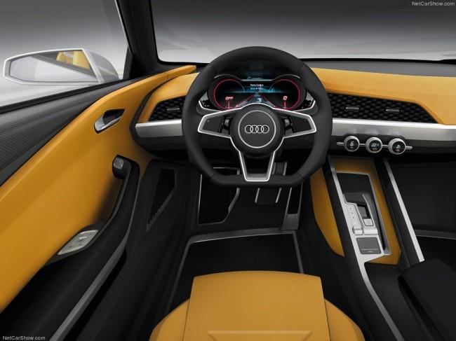Фото салона Audi Crosslane Concept 2012