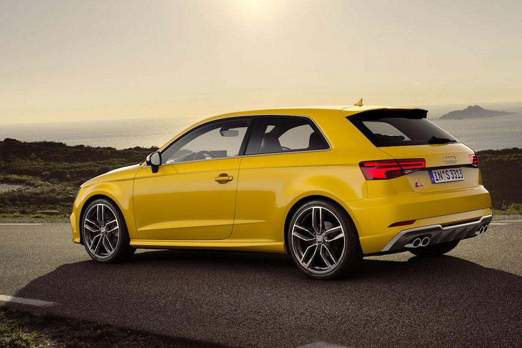 Фото новой Audi S3 2016