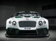 Гоночный Bentley Continental GT3