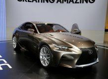 Фото купе Lexus LF-CC Concept