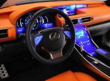 Фото салона Lexus LF-CC Concept