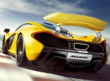 Фото суперкара McLaren P1