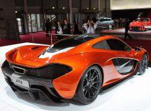 McLaren P1 Concept в Париже