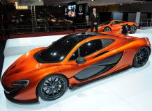 Живые фото McLaren P1