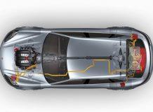 Схема агрегатов в Panamera Sport Turismo