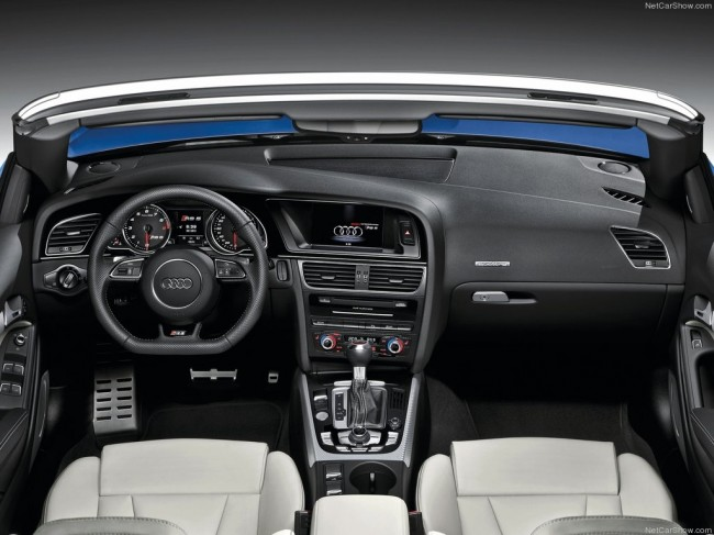 Салон Ауди RS5 Cabriolet