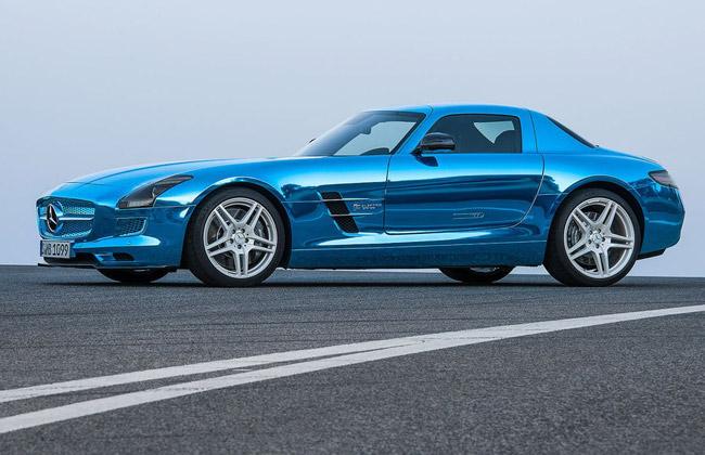 Фото Mercedes SLS AMG Coupe Electric Drive