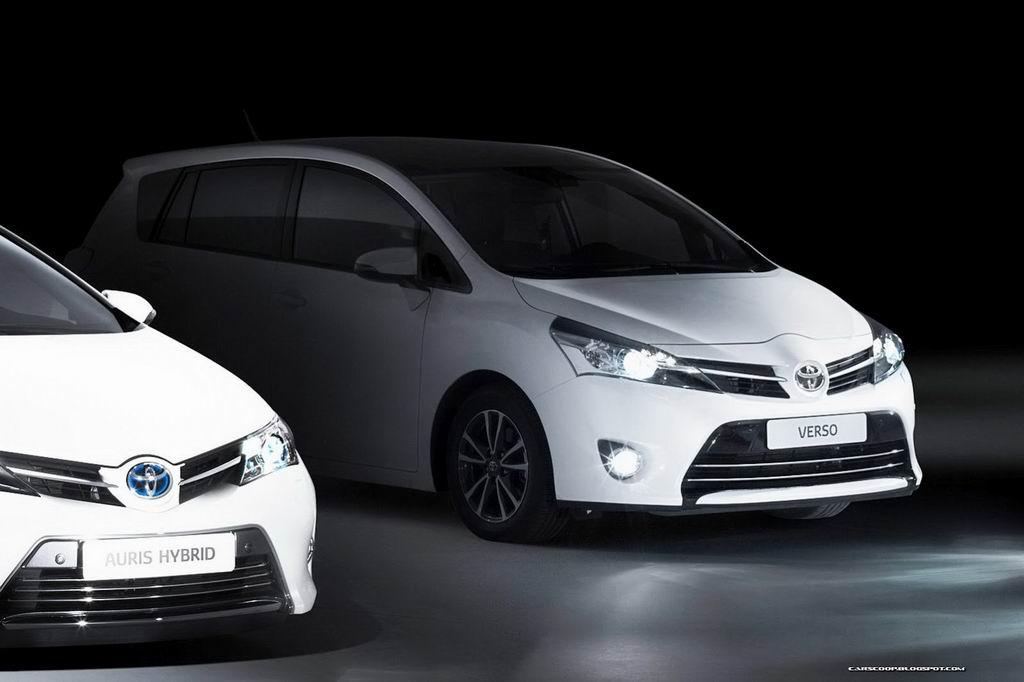 Тизер обновленной Toyota Verso 2013