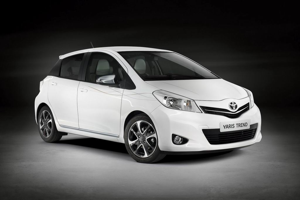 Фото Toyota Yaris Trend 2013